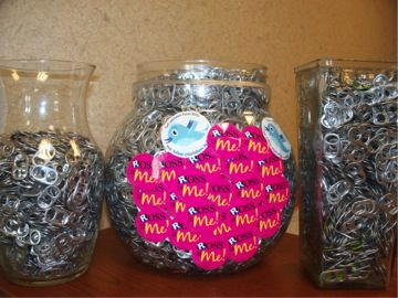 Ross Medical Education Center in Lansing puts pop can tabs to good use for Mid-Michigan Ronald McDonald House