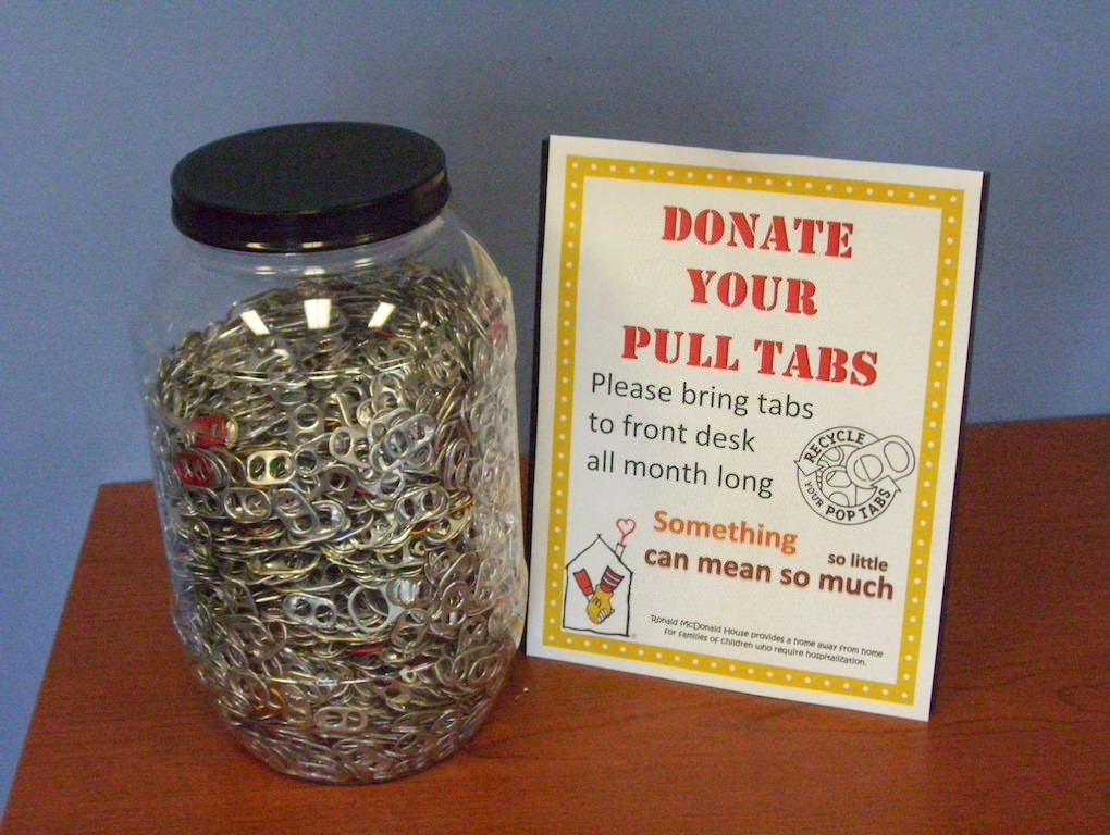 Ross Medical Brighton Collects Pop Tabs